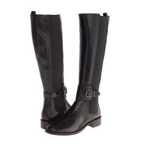 Via Spiga Bufu Black Riding Boots